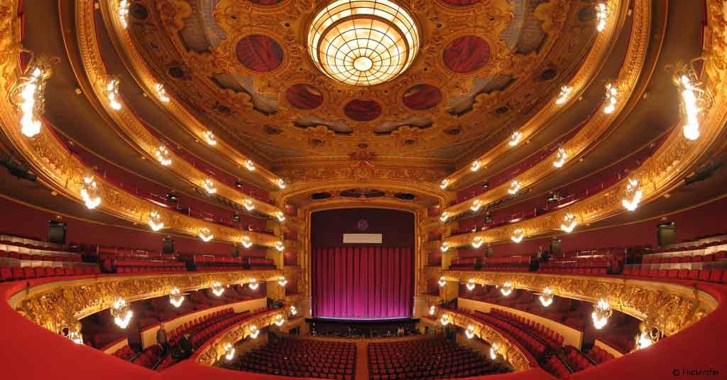 Teatre del Liceu w Barcelonie