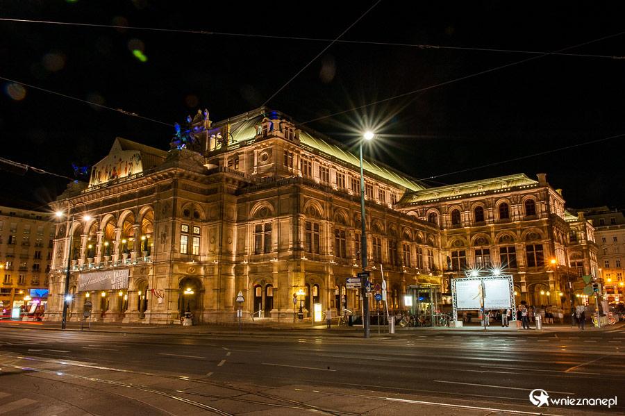 Wiener Staatsoper w Wiedniu